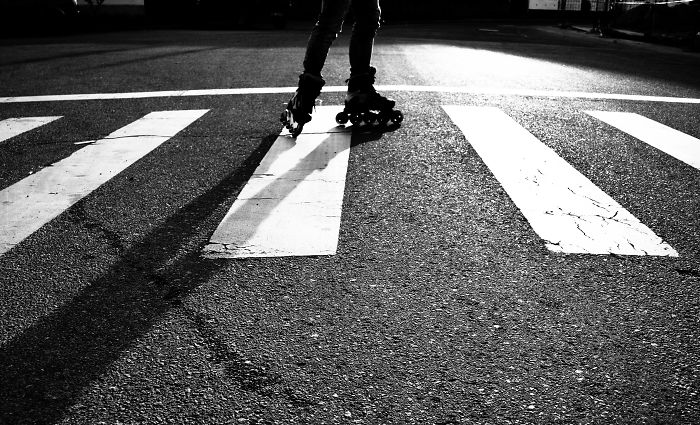 Playing With Shadows: Black And White Street Photography