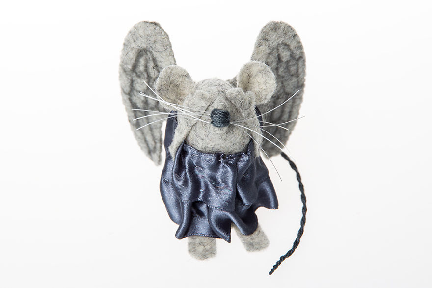 Weeping Angel Mouse - Doctor Who Monster
