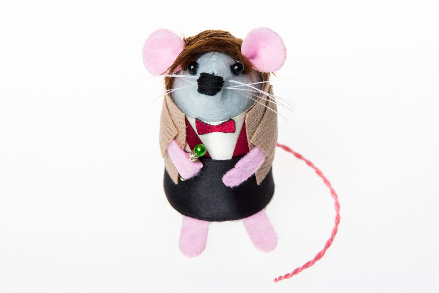 Matt Smith, Eleventh Doctor Mouse