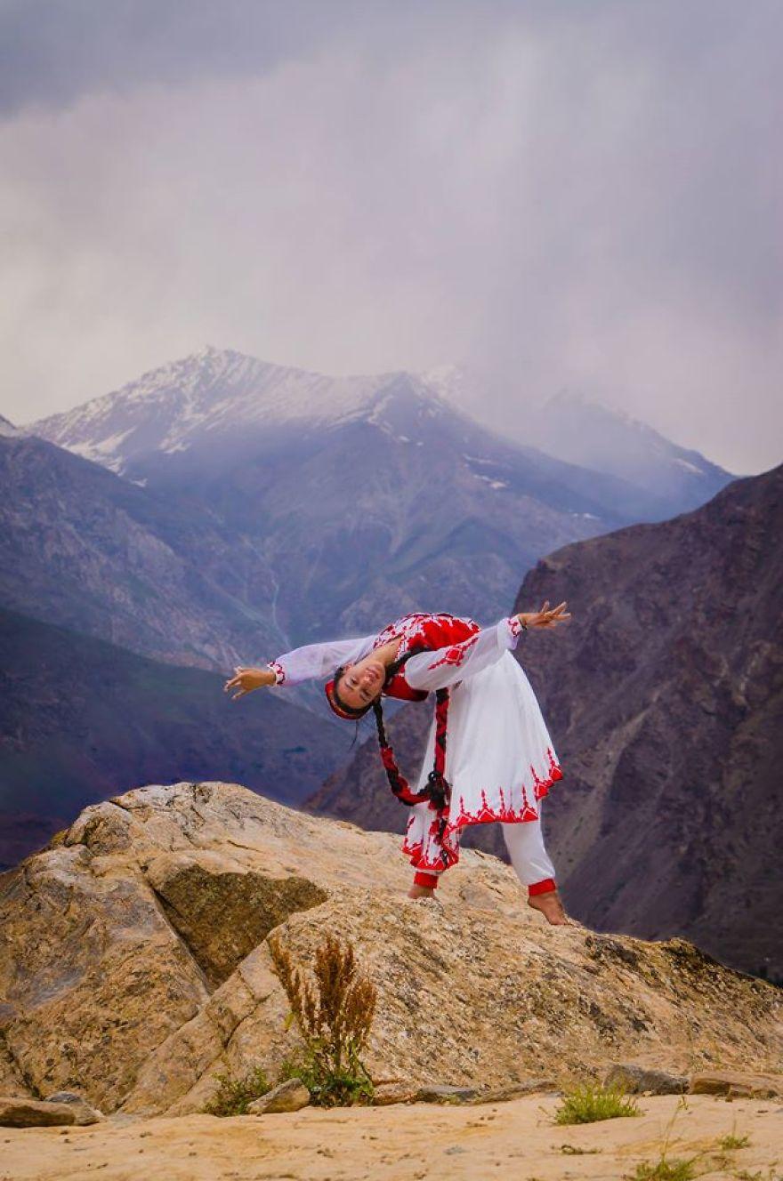 In Khorog, Badakhshan, In The 'pamirs' The Roof Of The World. Photo Credit Roma Buryaek