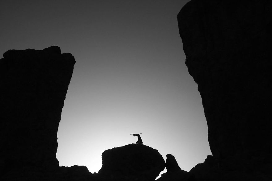Gran Canaria, Canary Islands At Roques Nublo. Photo Credit Timothy Hastings