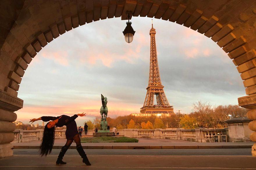 Paris, France At The Eiffel Tower. Photo Credit Assunta Sebastian