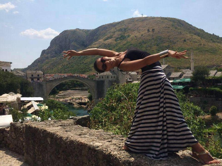 Mostar, Bosnia And Herzegovina At Stari Most Bridge. Photo Credit Rachel Sterner
