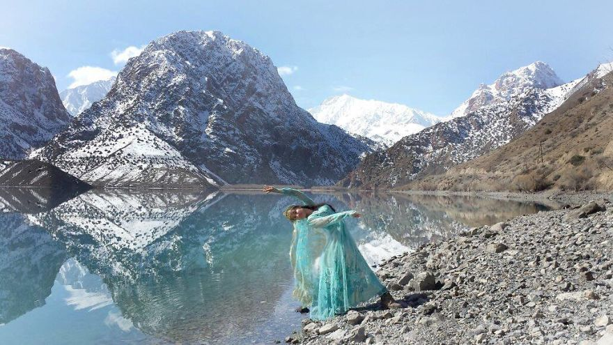 Sughd, Tajikistan At Iskanderkul (a Lake Named After Alexander The Great). Photo Credit Jason Fong