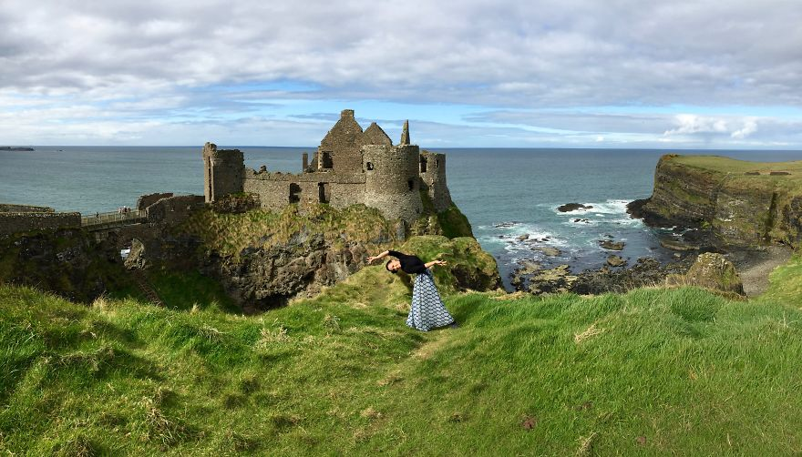 Belfast, Ireland At Dunluce Castle. Photo Credit Stacy Teague