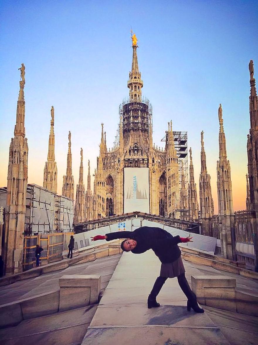 Milan, Italy At Duomo Di Milano. Photo Credit Catherine Framm