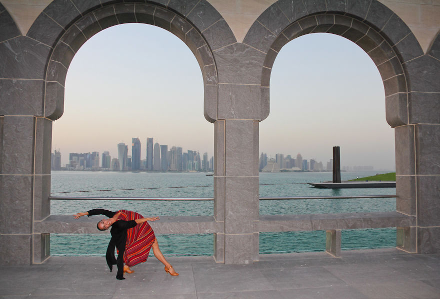 Doha, Qatar At The Islamic Art Museum. Photo Credit Courtenay Stevens