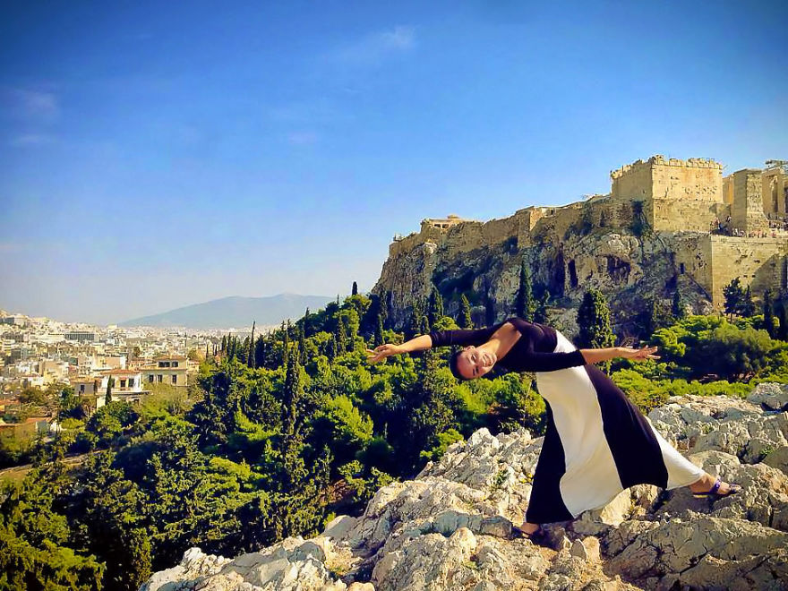 Athens, Greece At The Parthenon. Photo Credit Ellen Pugliese