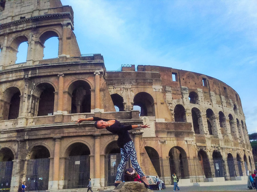 Rome, Italy At The Colosseum. Photo Credit Ellen Pugliese