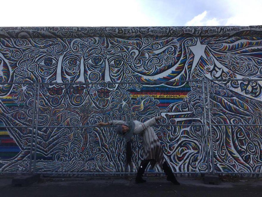 Berlin, Germany At The East Side Gallery. Photo Credit Tarek Rammo