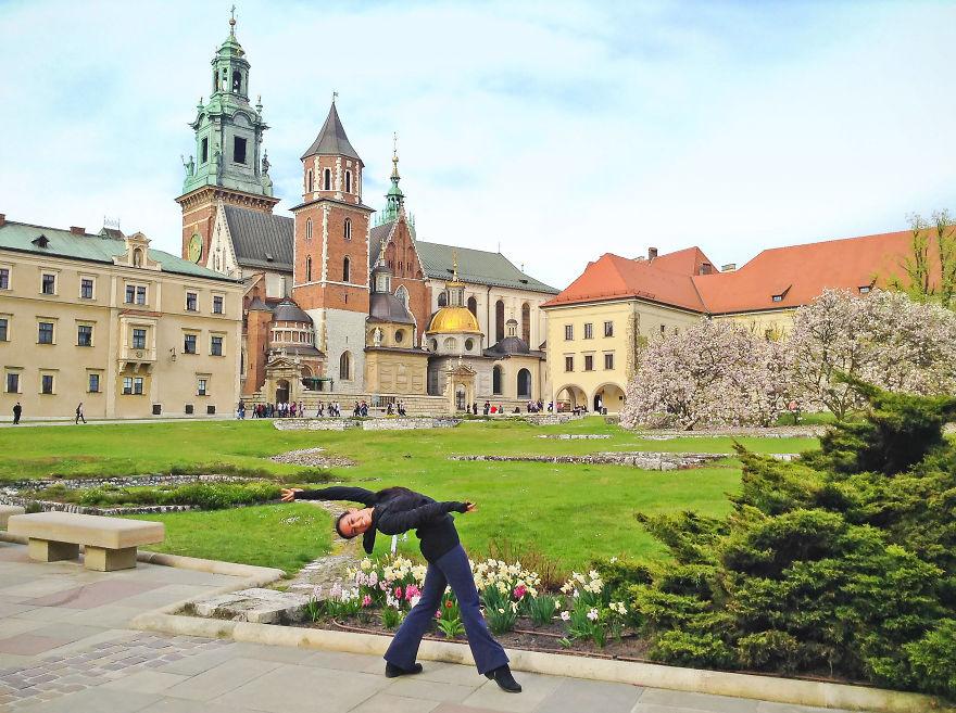 Krakow, Poland At The Wawel Castle. Photo Credit Catherine Framm