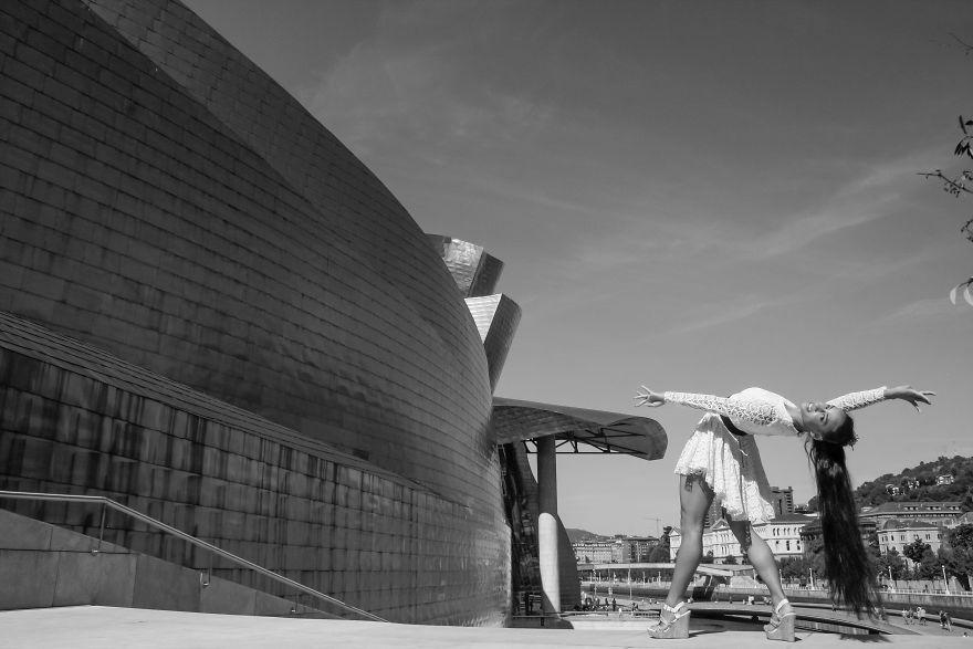Bilbao, Spain At The Guggenheim Museum. Photo Credit Timothy Hastings