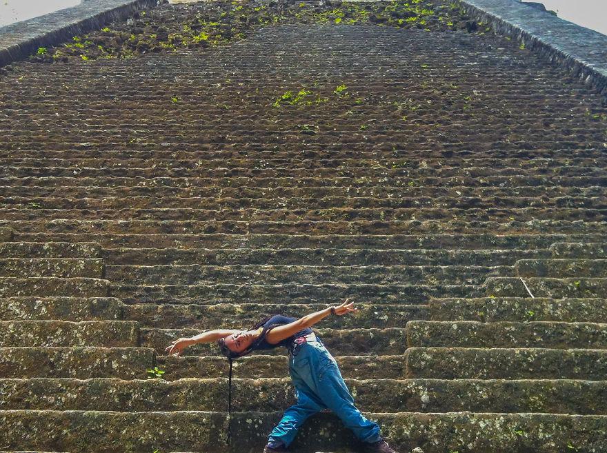Guatemala City, Guatemala At The Mayan Ruins Of Tikal Flores. Photo Credit Angie West