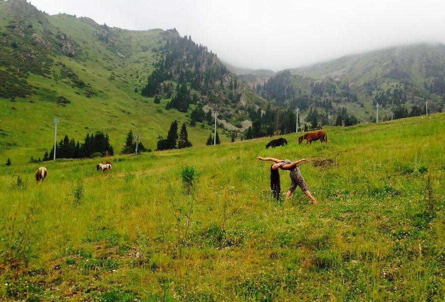 Almaty, Kazakhstan At Shymbulak. Photo Credit Random Tourist