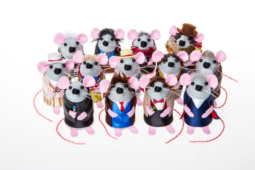 13 Doctor Mice