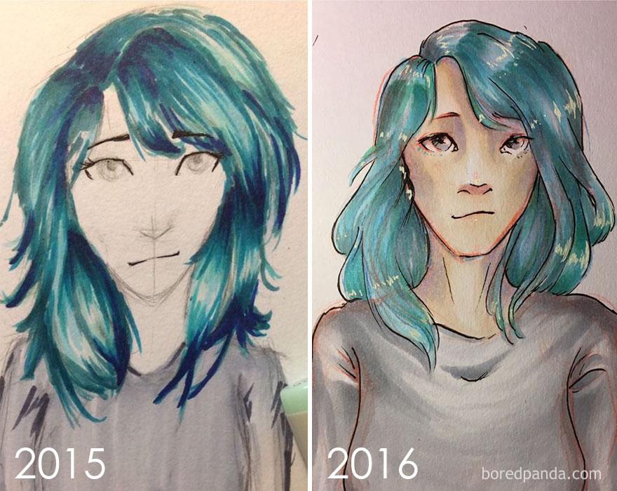 1 Year Progress By Bethany
