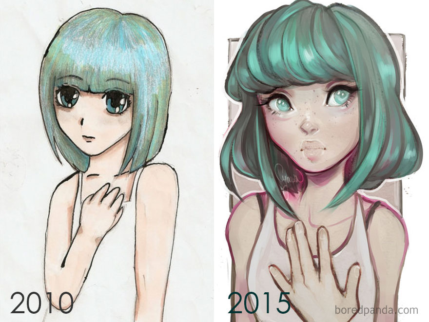 5 Year Improvement By Laura