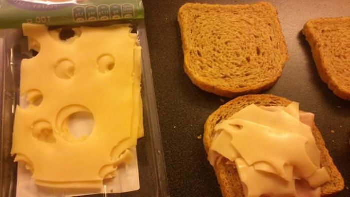 This Cheese Is Very Scared