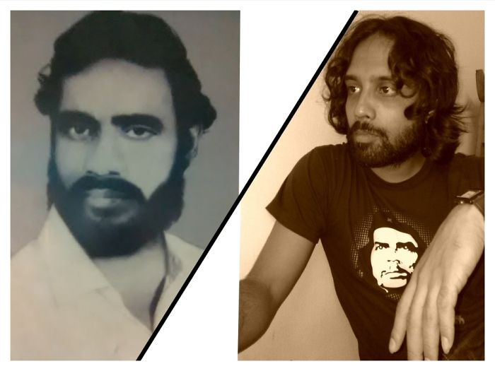 My Father In 1971, Just After The Victory Of Nine Month Long Liberation War For Bangladesh And Myself In 2010