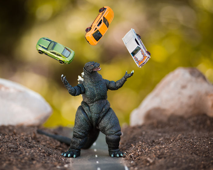Juggling, Because All Work And No Play Makes Godzilla A Dull Monster