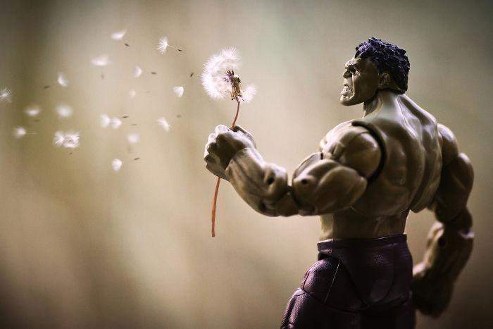 """""""Hulk Encuentra lugar feliz"""""""