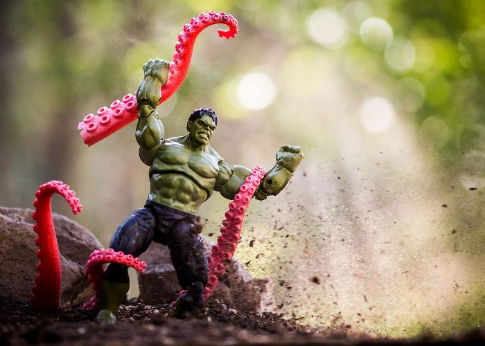 """Hulk Hate Calamari!"""