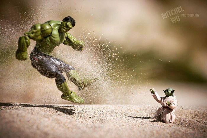 """Big Green Padawan You Are. Train More You Must. Mmmmm?"""