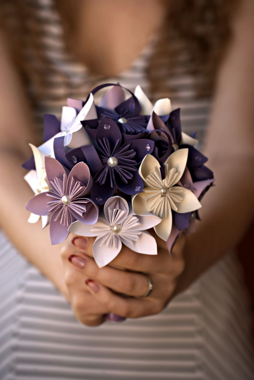 You Can Use Paper Bouquets On Hen's Parties