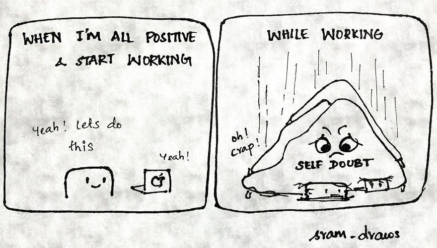 I Drew Comics To Cope Up With My Insecurities
