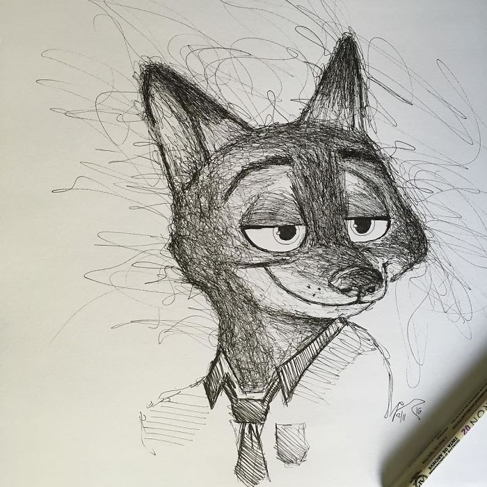 I Scribble My Favorites Characters