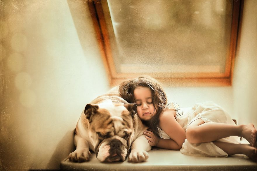 I Tried Photographing My Daughter And My Dog. It Almost Led To A Divorce