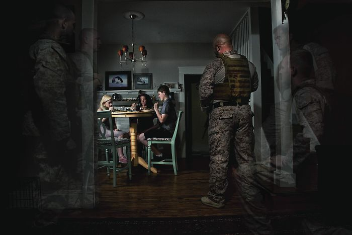Photo Series Shows The Darker Side Of Ptsd
