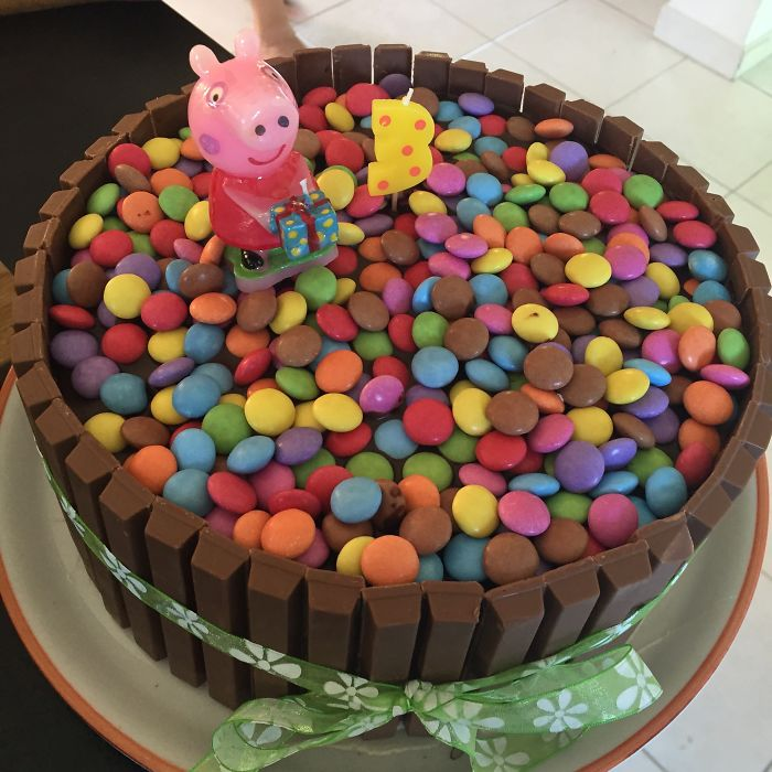Chocolate Cake For My Little One 3rd Birthday ;)