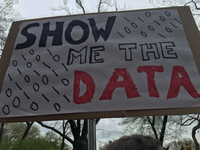 Show Me The Data
