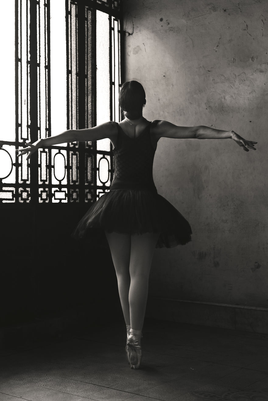 I Photograph The Beauty Of Ballet