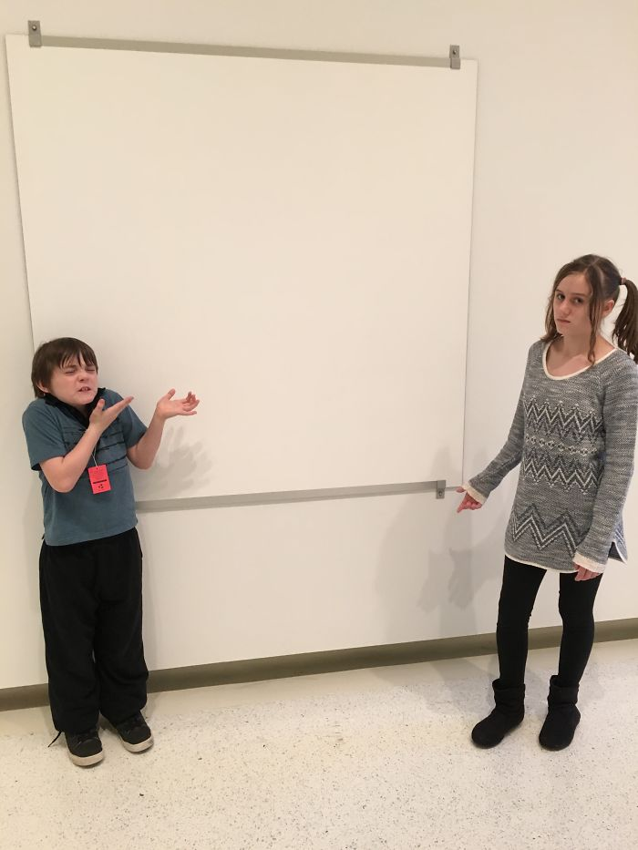 """My Kids Don't Understand Modern """"art"""" At Pittsburgh's Carnegie Museum."""