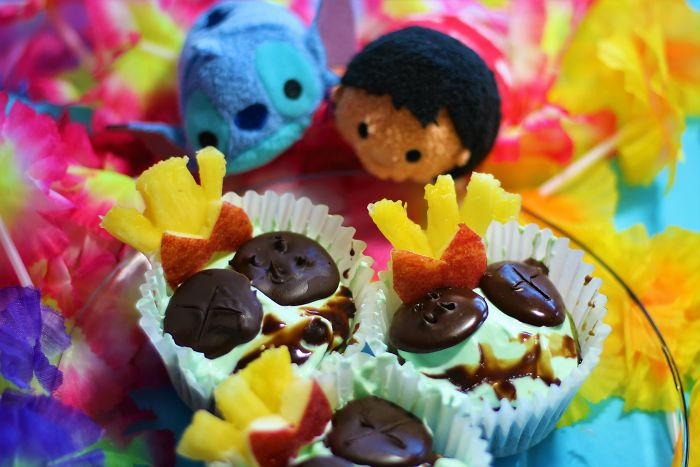 Homemade Lilo And Stitch Inspired Scrumpcakes