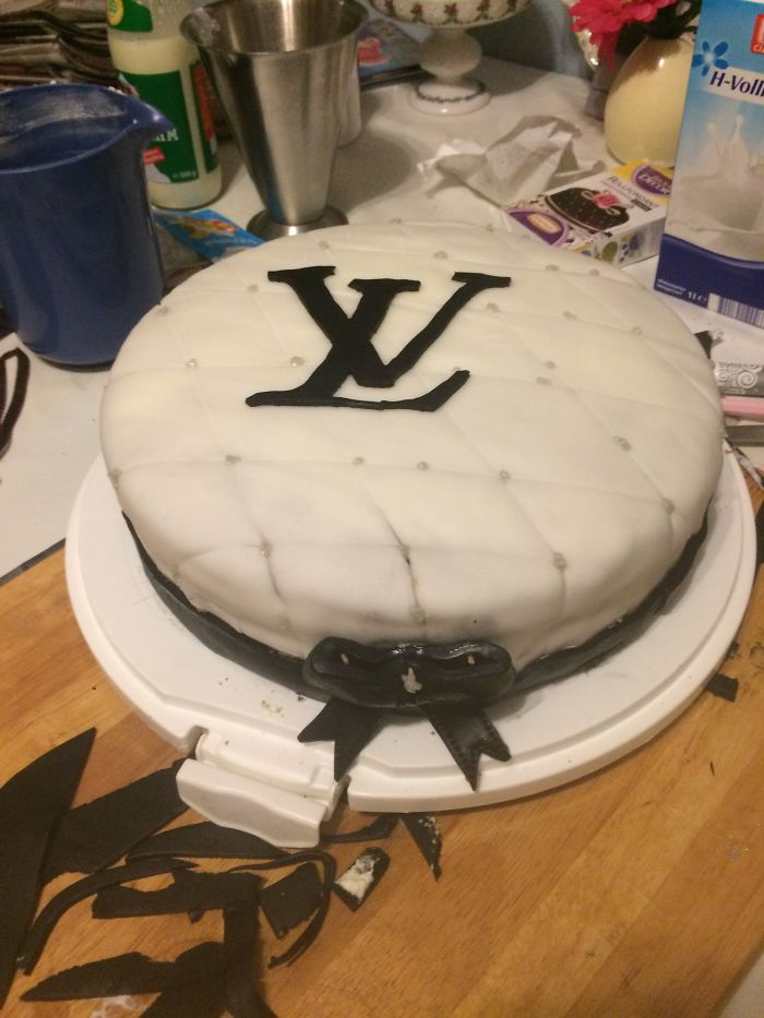 Louis Vuitton Cake Made By Me
