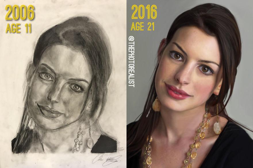 10 Years Improvement!
