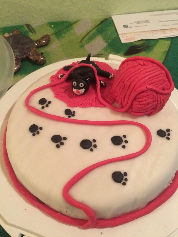 A Birthday Cake For My Mom