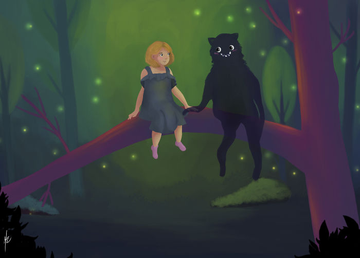 I Draw Children Illustrations That Remind Me Of Childhood