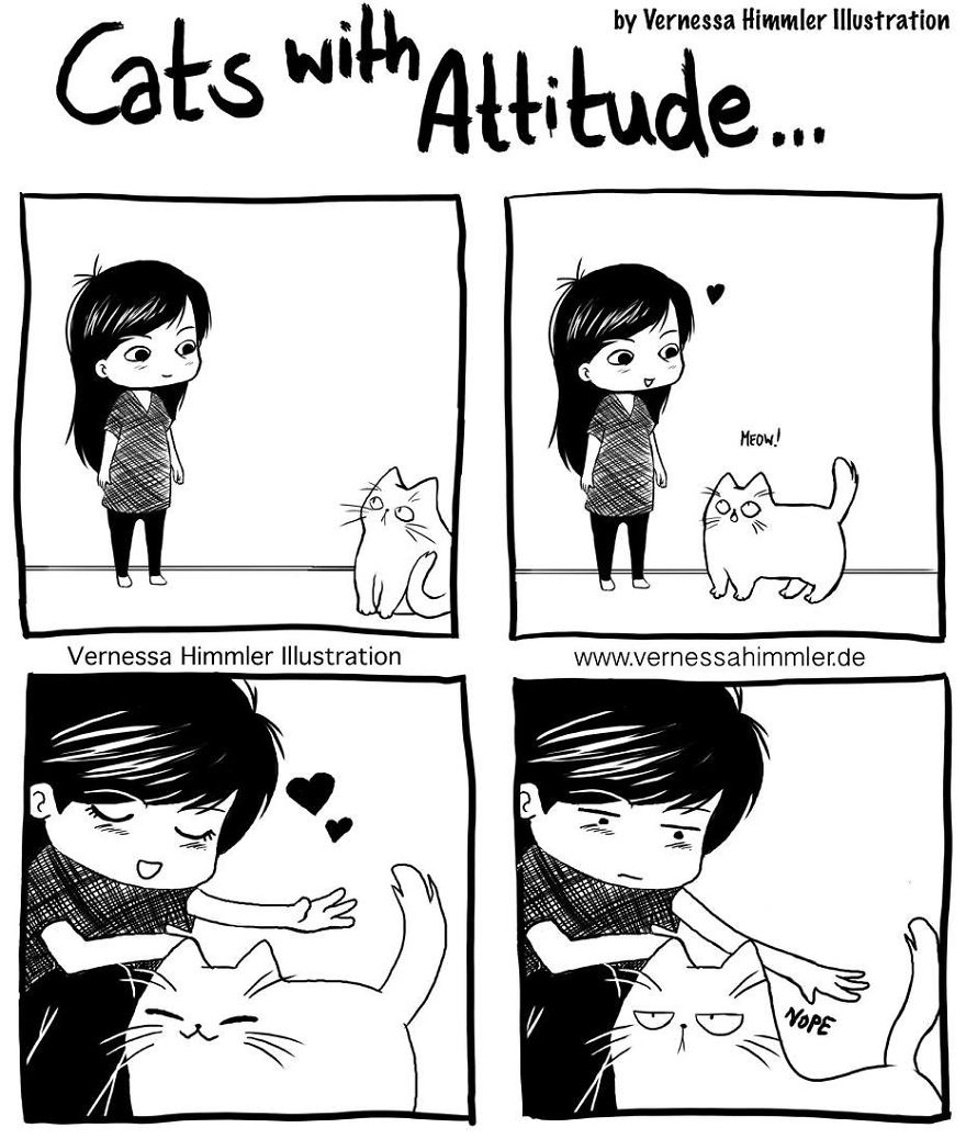 My Diary Comics About My Life With Two Cheeky Cats