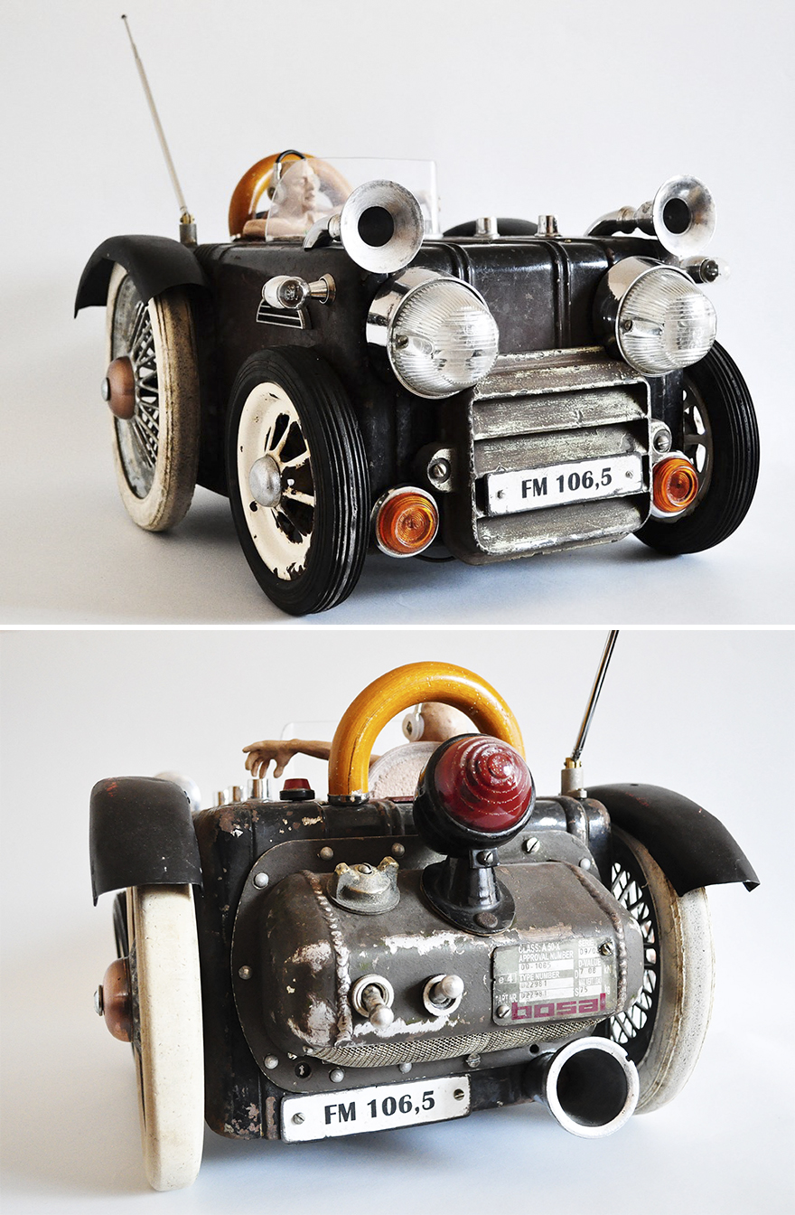 Vintage Radio Car