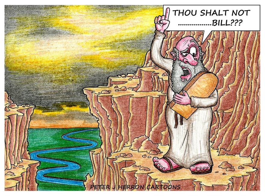 Moses Discovers A Typo