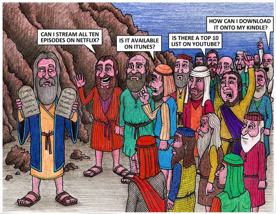 If Moses Descended From Mount Sinia In 2017