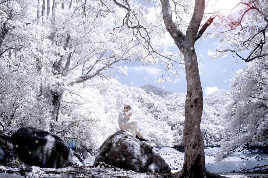 I Photographed Hong Kong Shing Mun Reservoir With Ir Filter
