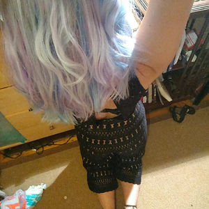 Holographic Mermaid Diy Hair
