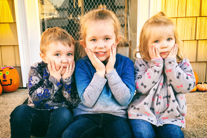 When My Children Show Their Love For One Another: The Upside To Having 3 Little Kids
