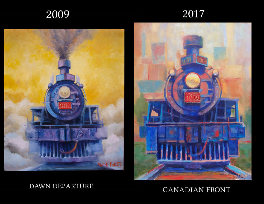 Trains 2009-2017