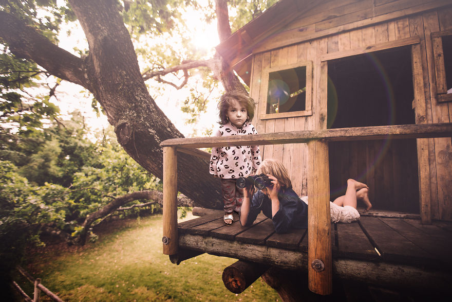 In A Treehouse
